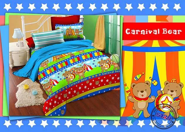 Sprei Carnival Bear
