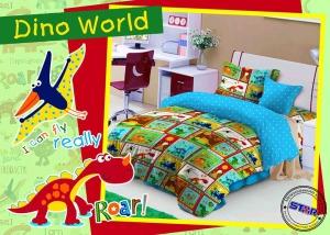 Sprei Dino World