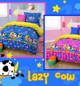 Sprei Lazy Cow