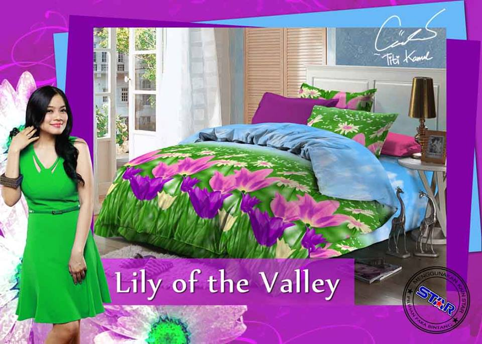 Sprei Star Lily Of The Valley