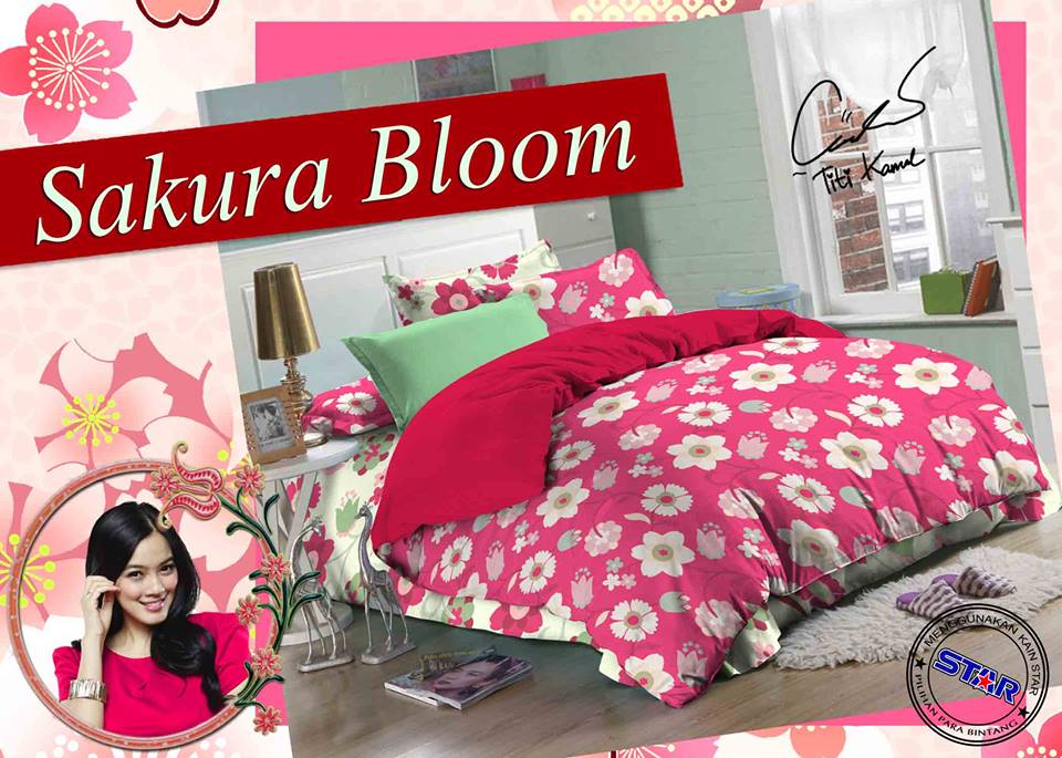 Sprei Star Sakura Bloom
