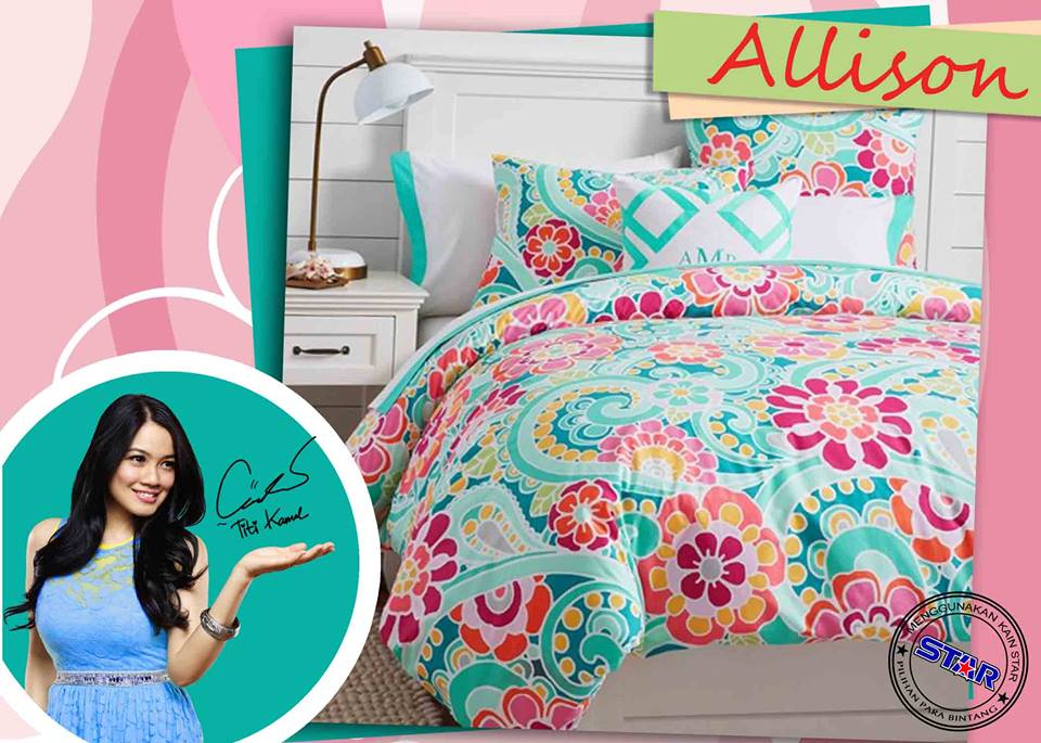 Sprei Star Allison