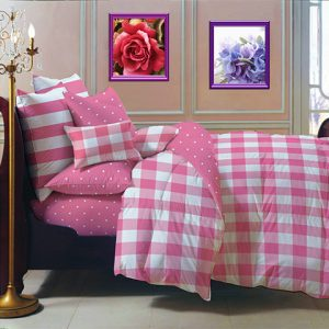 Sprei Star City Candy Pink