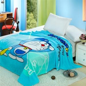 Selimut Bulu Doraemon R011