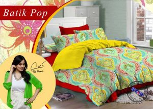 Sprei Star Batik Pop