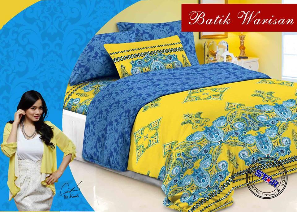 Sprei Star Batik Warisan