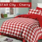 Sprei Star City Cherry