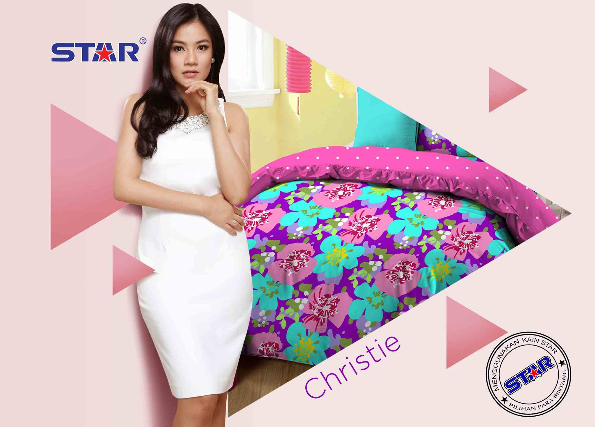 Sprei Star Christie