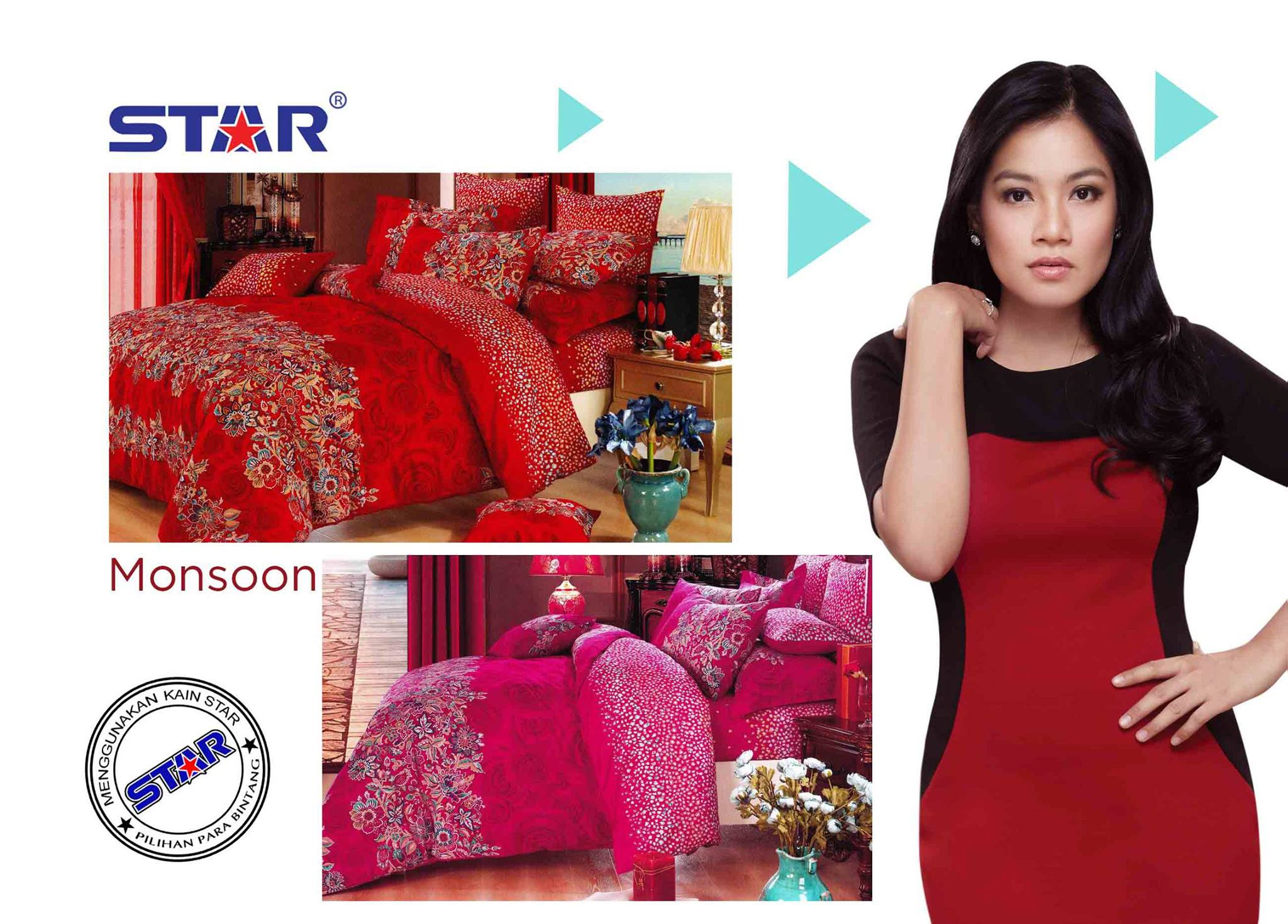 Sprei Star Monsoon