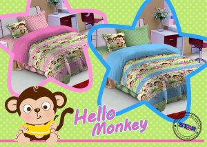 Sprei Star Hello Monkey