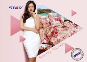 Sprei Star Spring Sonata