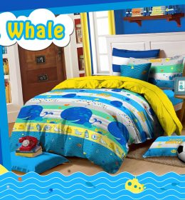 Sprei Star Mr. Whale