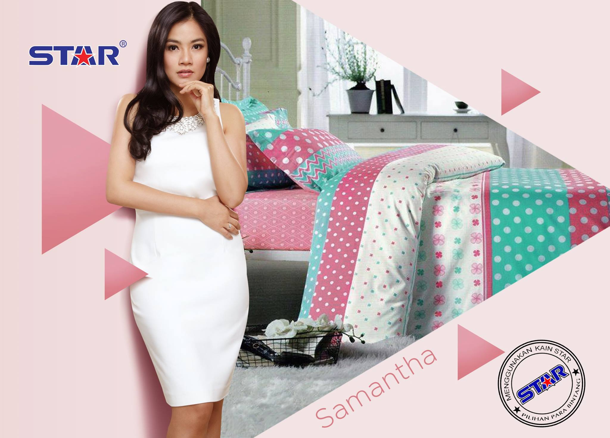 Sprei Star Samantha