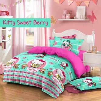 Sprei Star Kitty Sweet Berry
