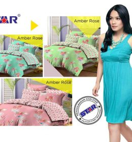 Sprei Star Amber Rose