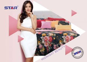 Sprei Star Midnight Beauty