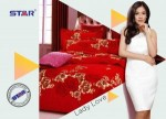 Sprei Star Lady Love