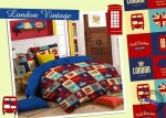 Sprei Star London Vintage