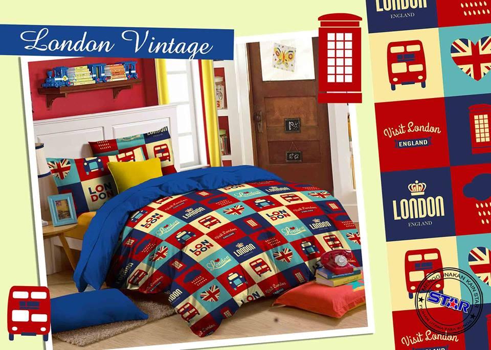 Sprei Star London Vintage