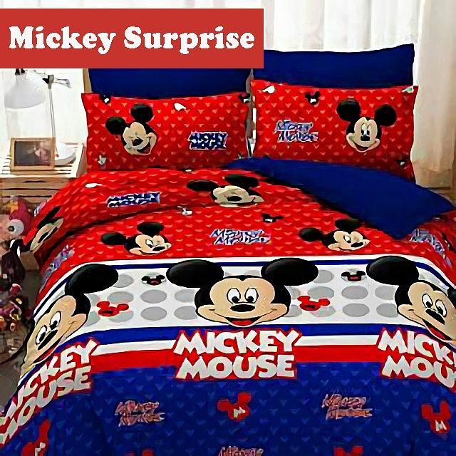 Sprei Star Mickey Surprise
