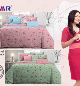 Sprei Star Rachel Flower