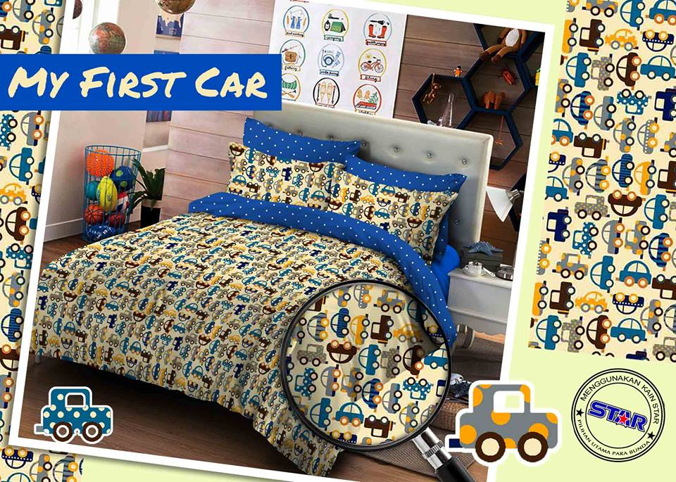 Sprei Star My First Car