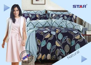 Sprei Star Natural