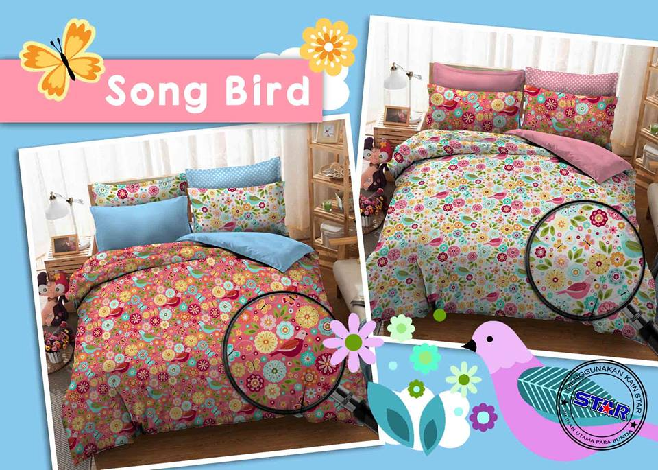 Sprei Star Song Bird