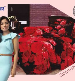 Sprei Star Spanish Rose