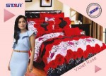 Sprei Star Violet Rose