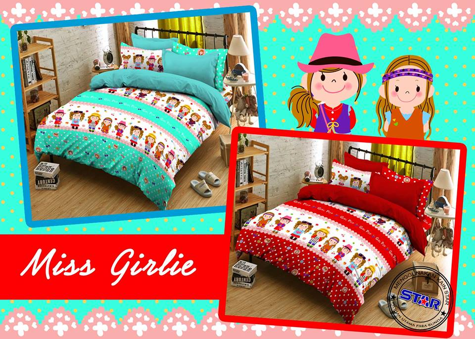 Sprei Star Miss Girlie