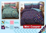Sprei Star Mini Cooper