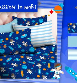 Sprei Star Mission To Mars