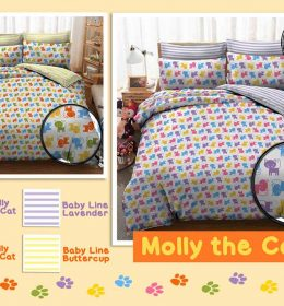 Sprei Star Molly The Cat