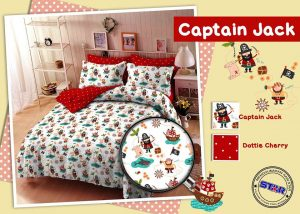 Sprei Star Captain Jack