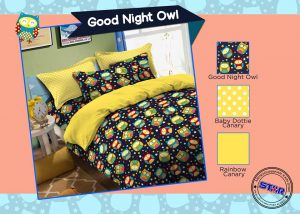 Sprei Star Good Night Owl
