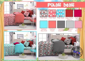 Sprei Star Polar Bear