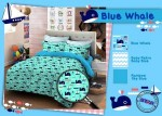 Sprei Star Blue Whale