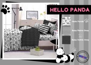 Sprei Star Hello Panda