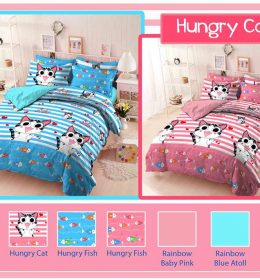 Sprei Star Hungry Cat