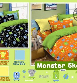 Sprei Star Monster Skate