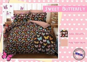 Sprei Star Sweet Butterfly