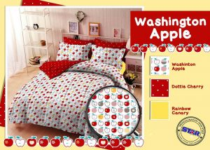 Sprei Star Washington Apple