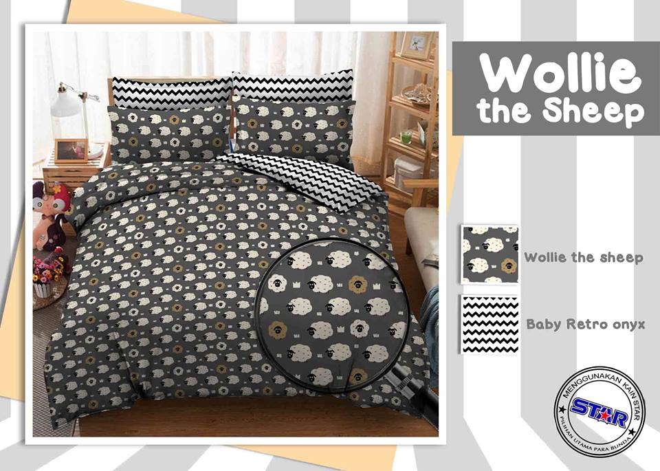 Sprei Star Wollie The Sheep