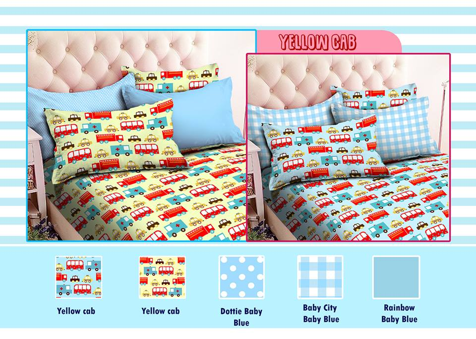 Sprei Star Yellow Cab