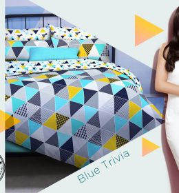 Sprei Star Blue Trivia