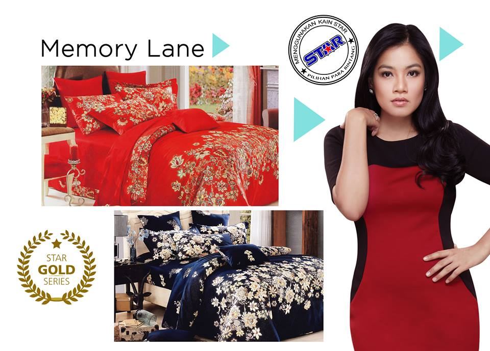 Sprei Star Memory Lane
