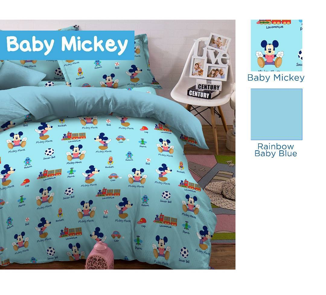 Sprei Star Baby Mickey