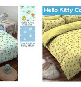 Sprei Hello Kitty Cookies
