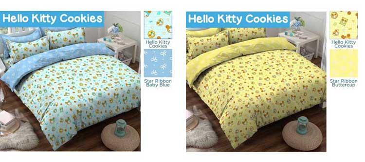 Sprei Hello Kitty Cookies